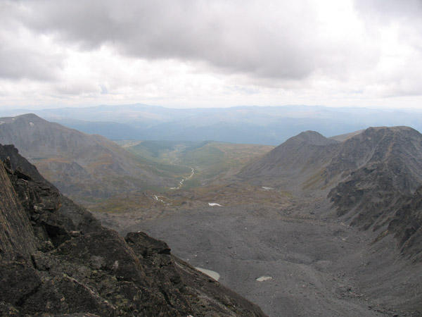 Вид на Монголию с пер.Сибстрин (2А).