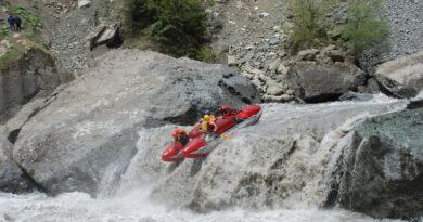 Фотоальбом о сплаве по  реке Ингури (Грузия) май 2011