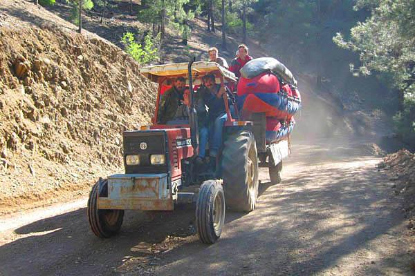 Отчет о прохождении р. Эрменек (Ermenek), Турция