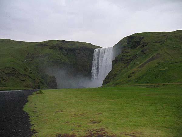 Водопад Скогафосс.