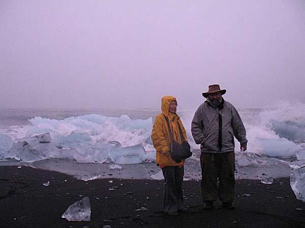 Встреча льдов с Атлантикой.