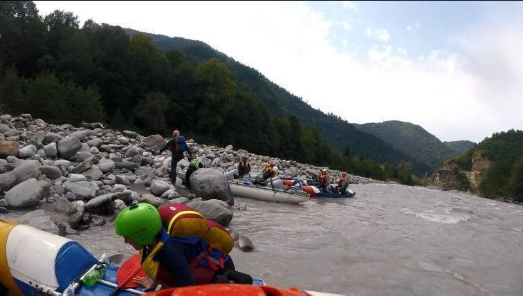 Отчет о спортивном походе 4 к.с. по рекам Грузии (Цхенисцкали, Кура, Риони)
