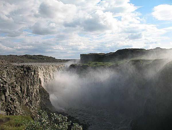 Водопад Детифосс. ( Dettifoss)