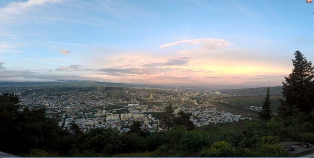 Фото 83 Вид на Тбилиси.