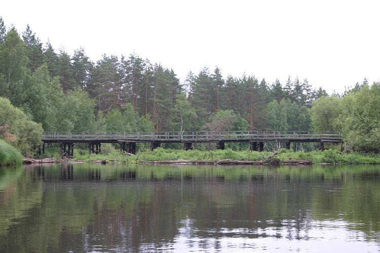 Мост рядом с д. Горки