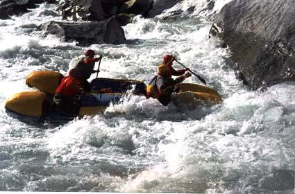 Отчёт о походе на реку Сары-Джаз, Тянь-Шань, сентябрь - октябрь 1995, IV место в чемпионате России