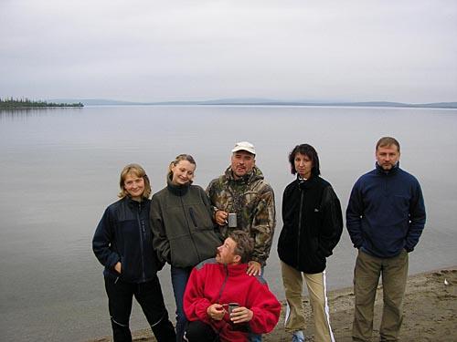 Пеший поход по Хибинам, лето 2005