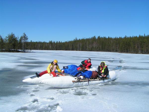 п.13 Волок по льду озера