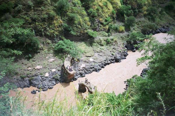 «Невероятные приключения русских в Эфиопии»,  река Голубой Нил, Эфиопия, 1997