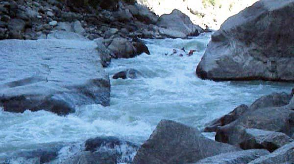 (фото 36) Очередной порог в ущелье «White Water MF»