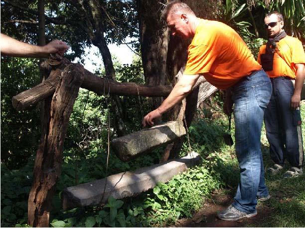 Рис.10. Каменный колокол в одном из монастырей на оз.Тана.