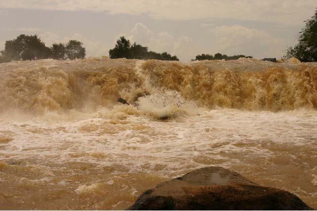 Рис.36. Порог «Водопад Святого Георгия», после прыжка.