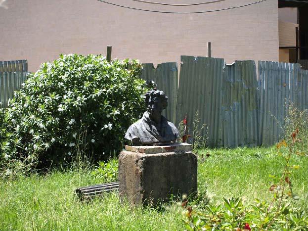 Рис.76. Памятник выдающемуся выходцу с Эфиопской земли – А.С.Пушкину.