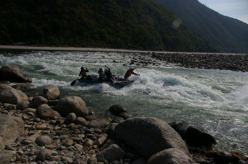 «Туда и обратно» / Непал- р.СунКоси-р.Тамур-Индия / ноябрь 2006