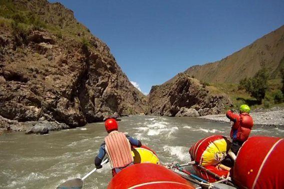 Фото 64. Р. Ой-Тал. Первый каньон.