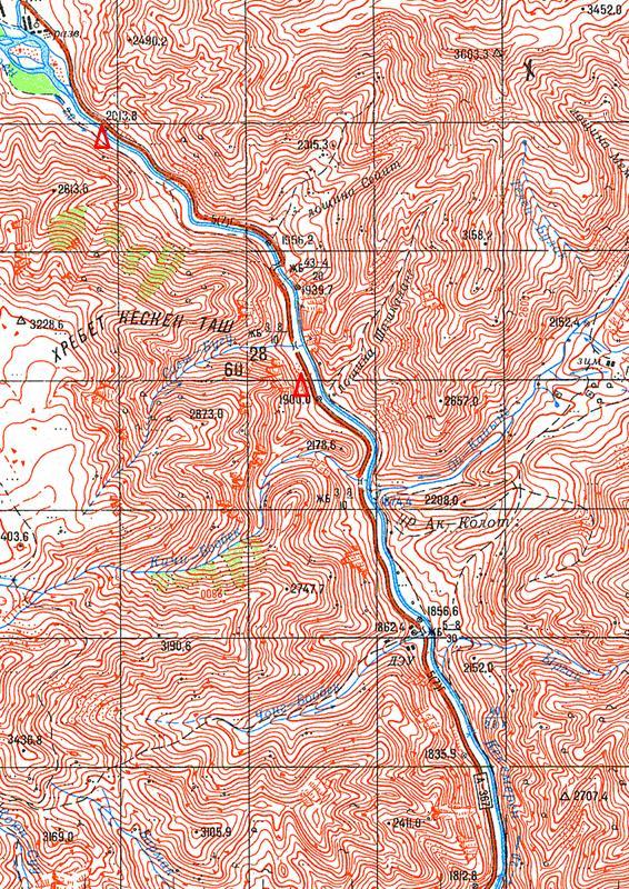 Карта р.Кекемерен
