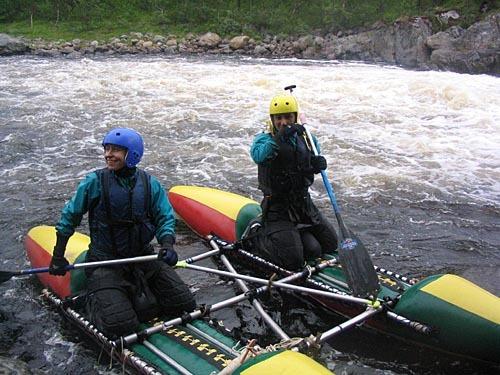 Отчёт о прохождении рек Титовка и Западная Лица (Мурманская область), июль-август 2006