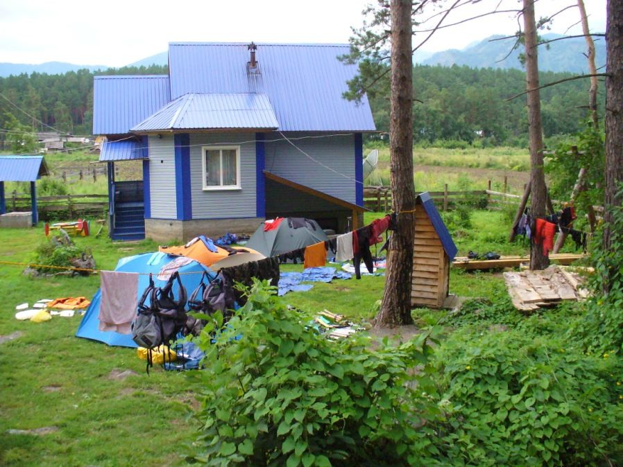Фото 52 – Поляна для палаток - «Усадьба Бычковых»