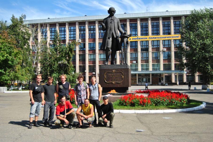 Фото 56 – Барнаул – Политехнический институт и пам. Ползунову