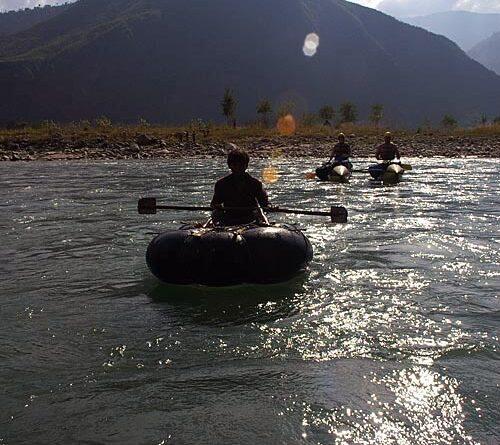 река Сун-Коси, Непал, ноябрь 2006