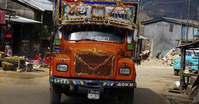Переезд с реки СунКоси на реку Тамур, Непал, ноябрь 2006
