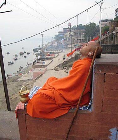 город Варанаси, Индия, ноябрь 2006