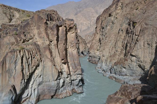 Выход из каньона Ак-Шийрак