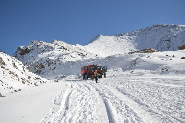 На перевале Чон-Ашу