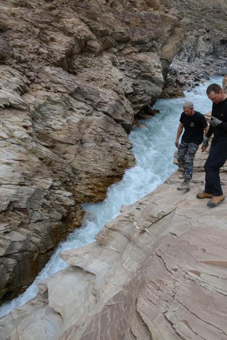 1-я щель каньона Джамансу