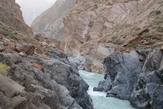 2-я щель каньона Джамансу