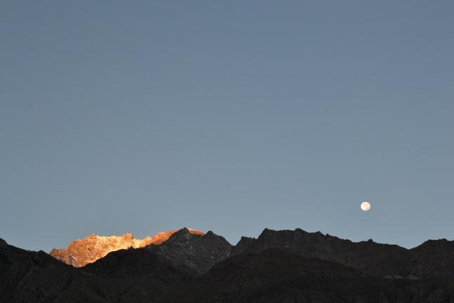 В горах красиво даже ночью!