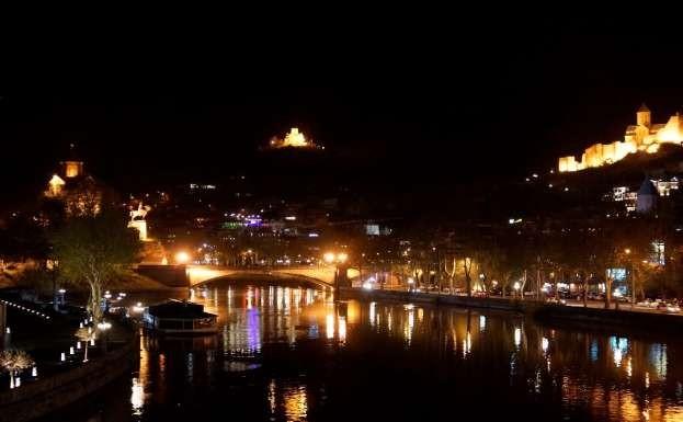 Фото 8 Вечерний Тбилиси