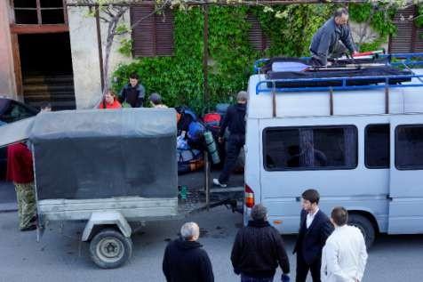 Фото 9 Утренняя погрузка в Тбилиси.