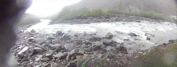 Фото 24 Выходная часть Уцеры после левого поворота реки.