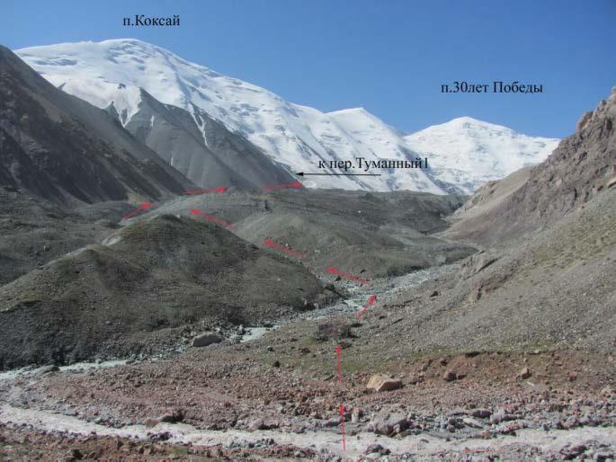 Ф.7 Место слияние рек с ледников Атджайло и Атджайло2