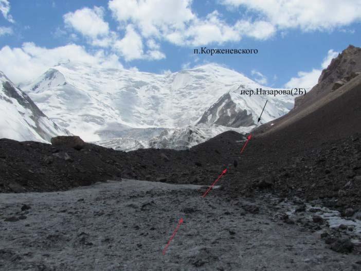 Ф.15 Вид в верховья левого кармана ледника Атджайло