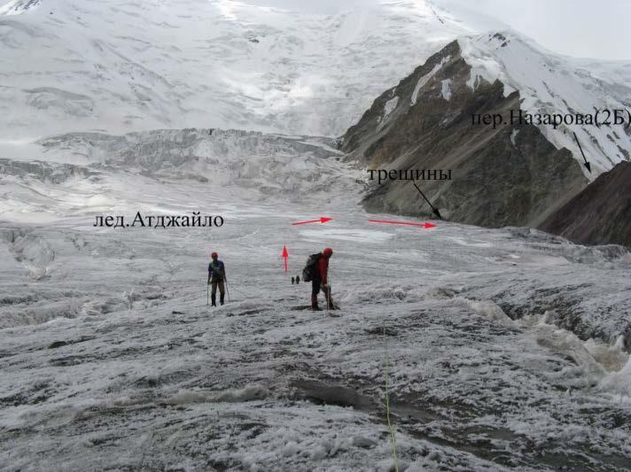 Ф.19 Вид с лед.Атджайло на пер.Назарова