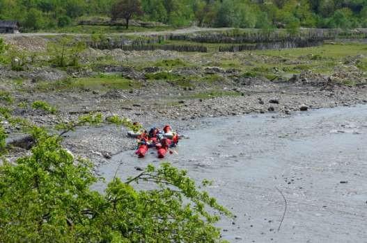 Фото 73 Подготовка к старту ниже плотины.