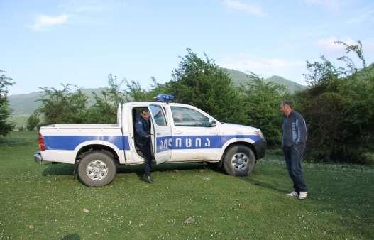 Фото 76 Визит полиции на место стоянки.