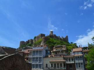 Фото 126 Старая крепость. Внизу слева серные бани