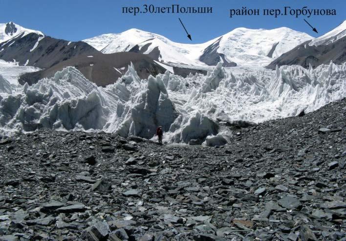 Ф.58 Вид с левой морены лед.№47 на запад