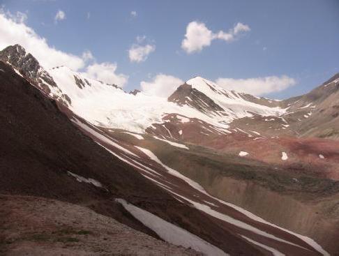 Вид с перевала Путешественников на северо-запад