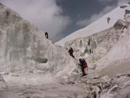 В ледопаде лед. Цюрупы