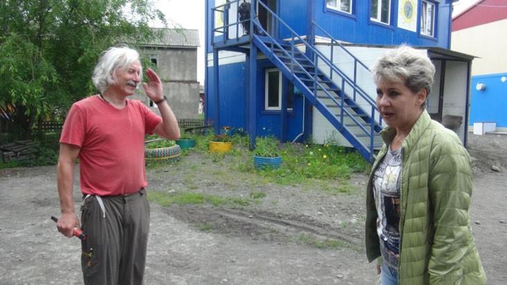 ФОТО. Жанна Федорова - директор электростанции и наш ангел-хранитель.