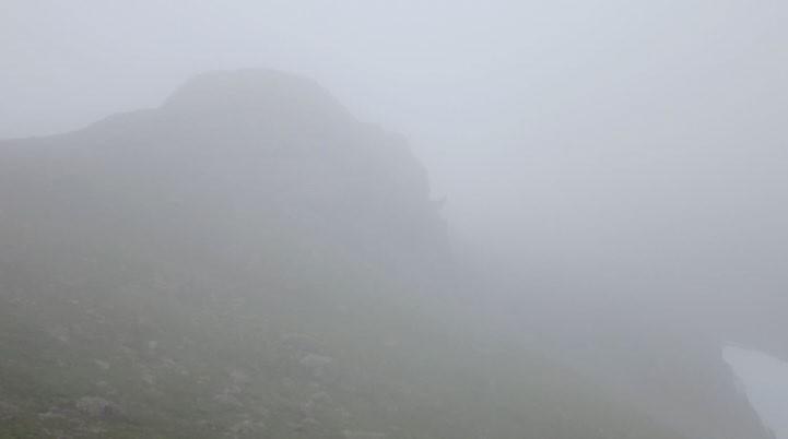 ФОТО. Вот такой вот перевал Кастор. Остался тайной. Кажется Кастор - это привидение? Похоже.