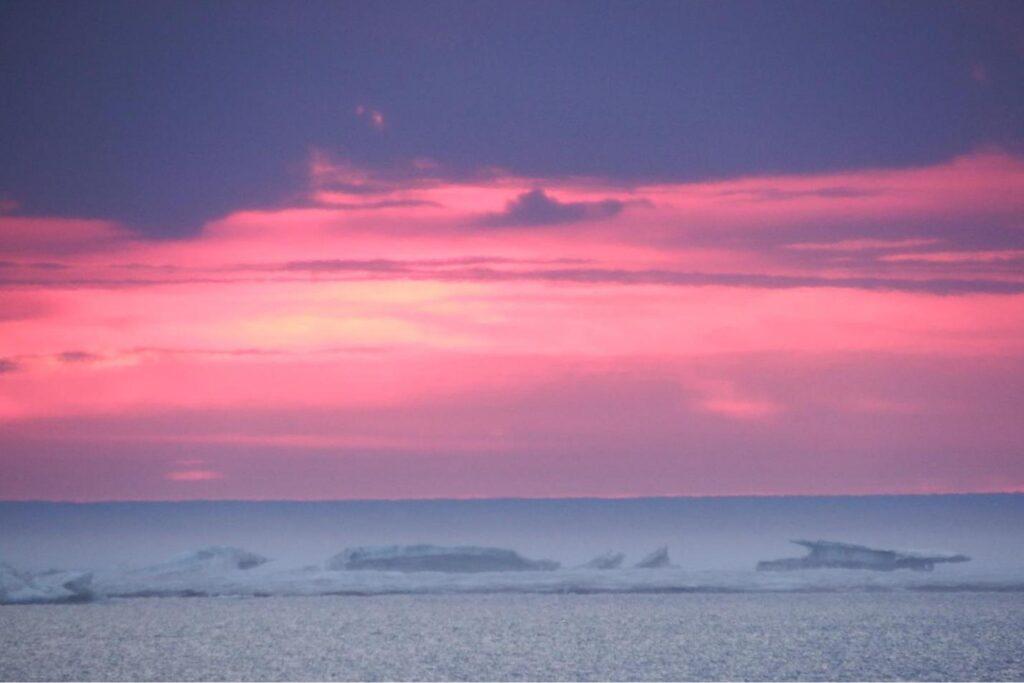 Чукотское море. Ледовитый океан.