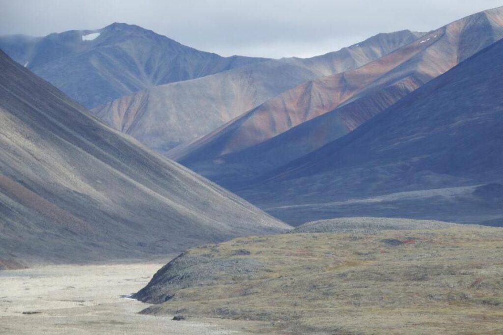 Виды на подходе к перевалу Горный.