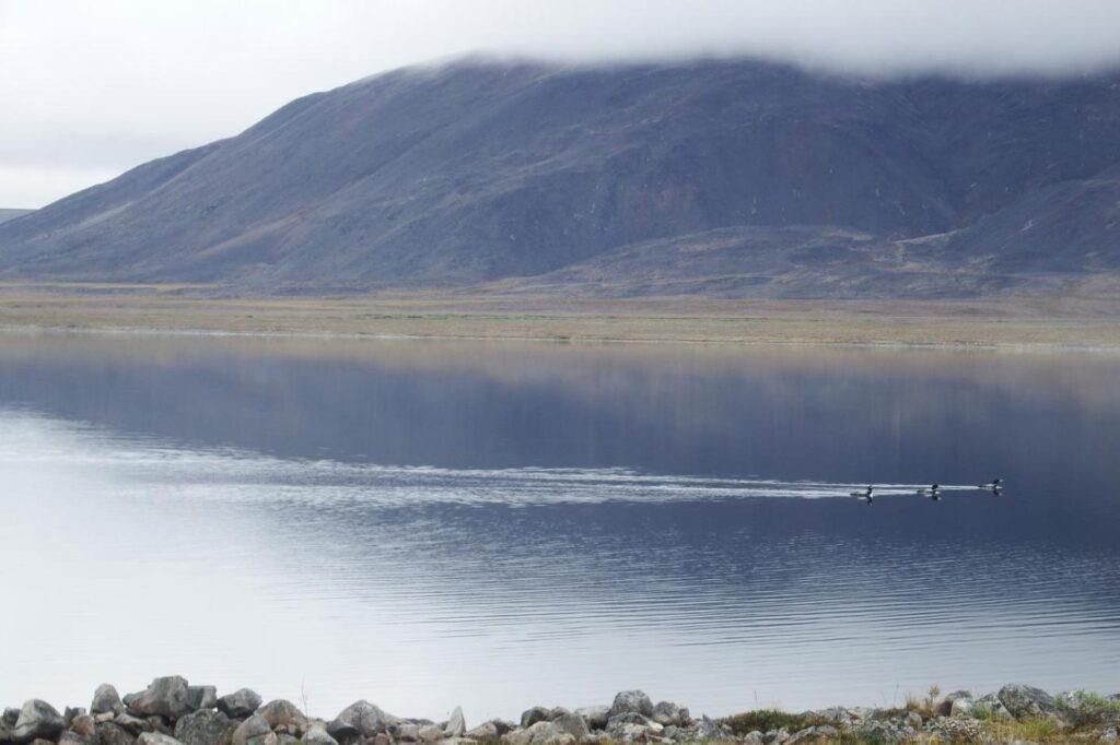 Озеро Конталягытгын.